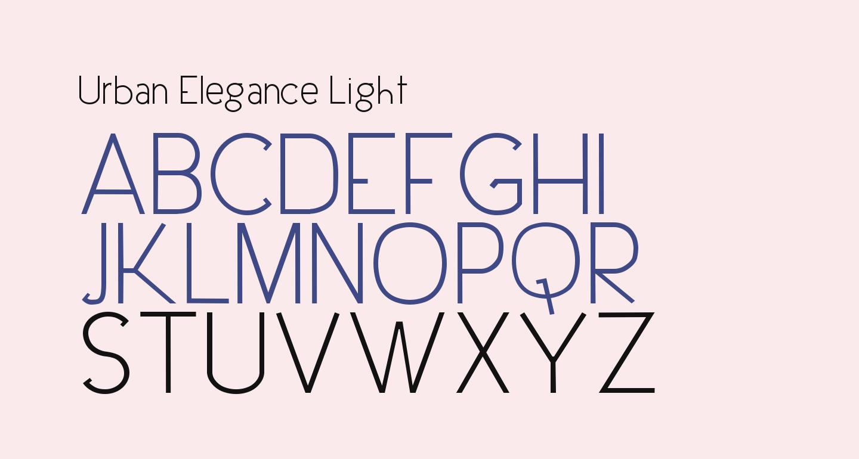 Urban Elegance Light