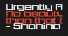 Urgently Regular
