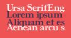Ursa SerifEngraved