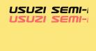 Usuzi Semi-Italic