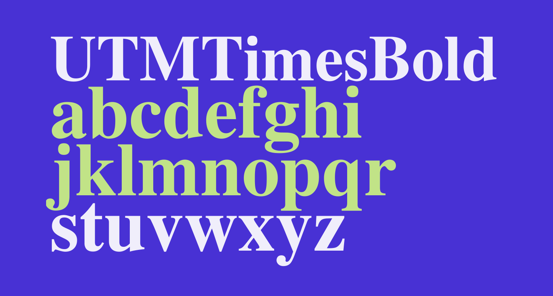 UTMTimesBold