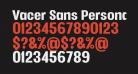 Vacer Sans Personal Black