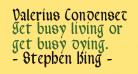 Valerius Condensed