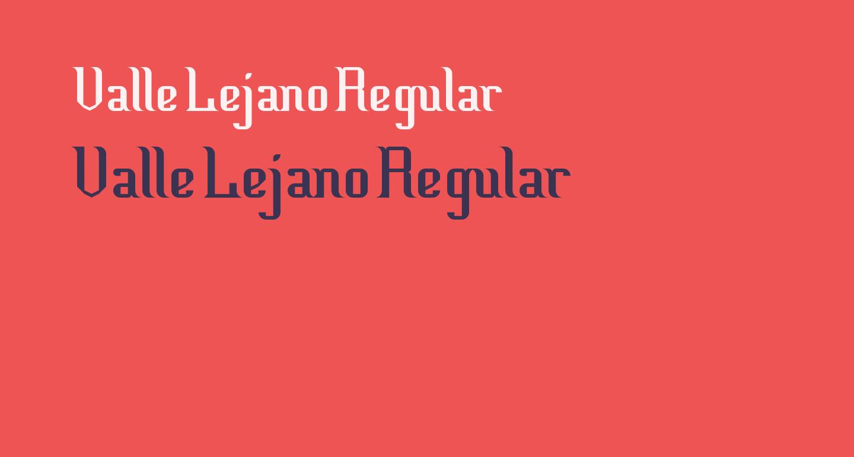 Valle Lejano Regular