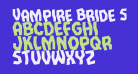 Vampire Bride Staggered Rotated