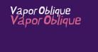 Vapor Oblique