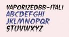 VaporizedBB-Italic