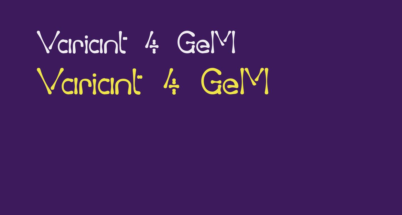 Variant 4 GeM
