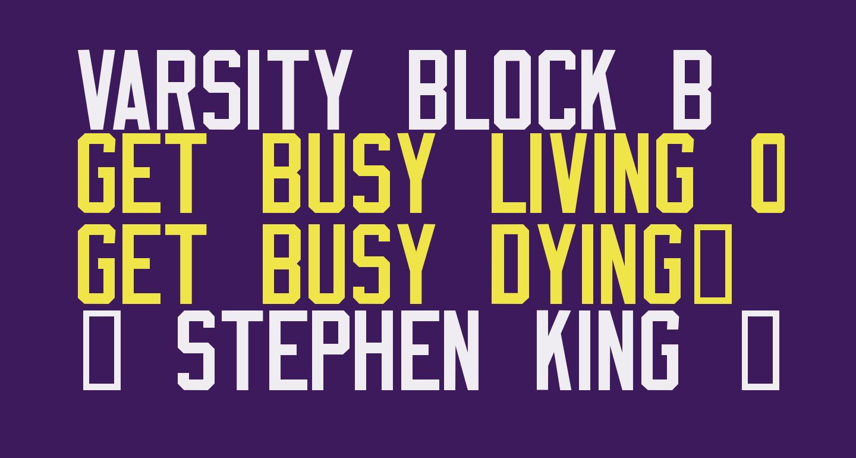 Varsity Block B