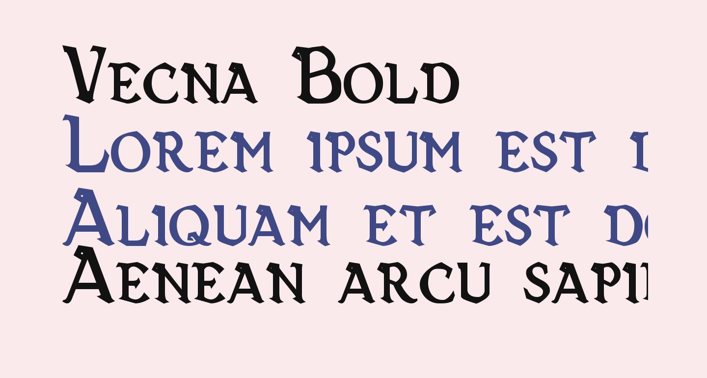 Vecna Bold
