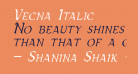 Vecna Italic