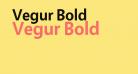 Vegur Bold