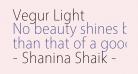 Vegur Light