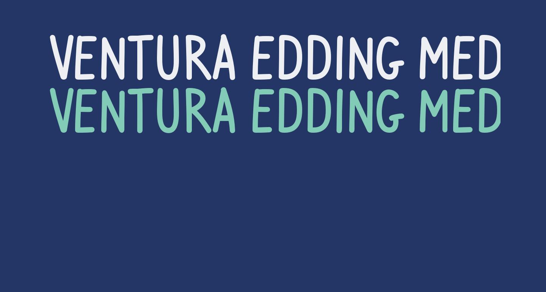 Ventura Edding Medium