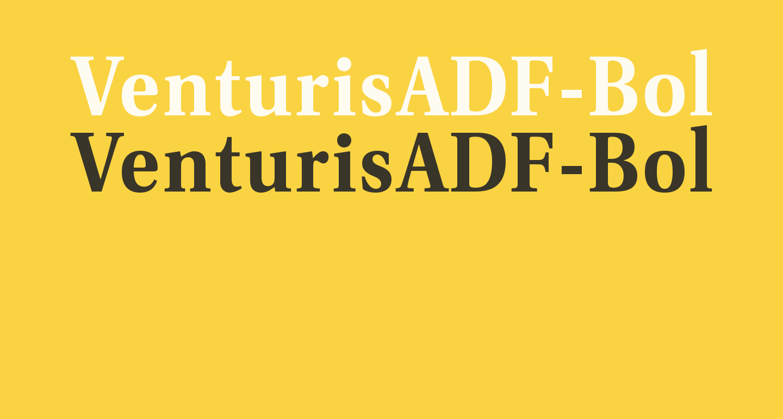 VenturisADF-Bold