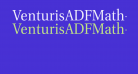 VenturisADFMath-Regular