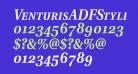 VenturisADFStyle-BoldItalic