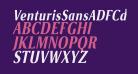 VenturisSansADFCd-BoldItalic