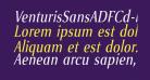 VenturisSansADFCd-Italic
