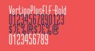 VertigoPlusFLF-Bold