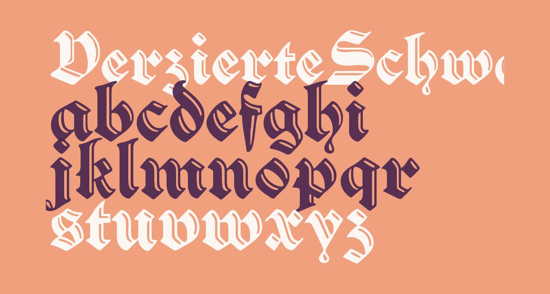 VerzierteSchwabacher
