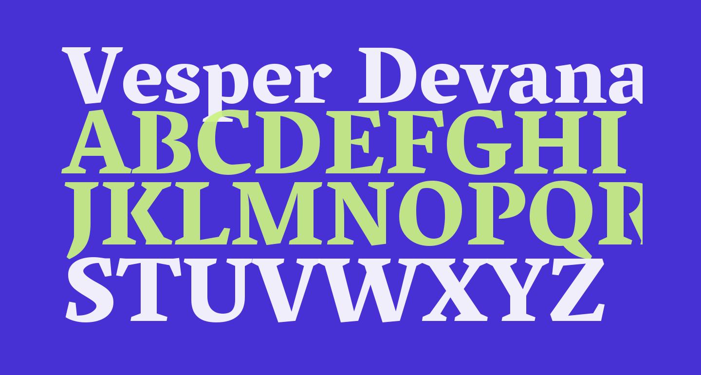 Vesper Devanagari Libre Heavy