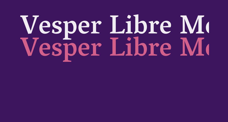 Vesper Libre Medium
