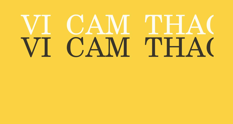VI Cam Thach Hoa