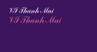 VI Thanh Mai