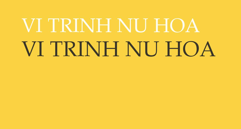 VI Trinh Nu Hoa