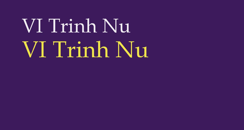 VI Trinh Nu