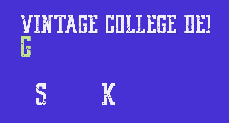 VINTAGE COLLEGE DEPT_DEMO_worn