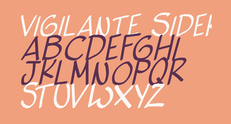 Vigilante Sidekick Italic