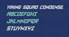 Viking Squad Condensed Italic