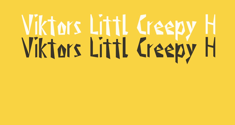 Viktors Littl Creepy Horror