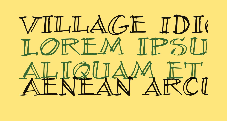 Village Idiot BB