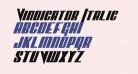 Vindicator Italic
