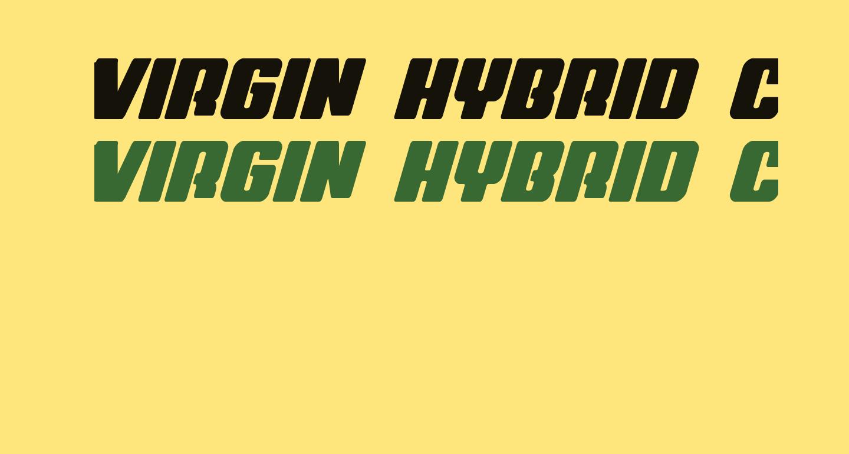 Virgin Hybrid Condensed