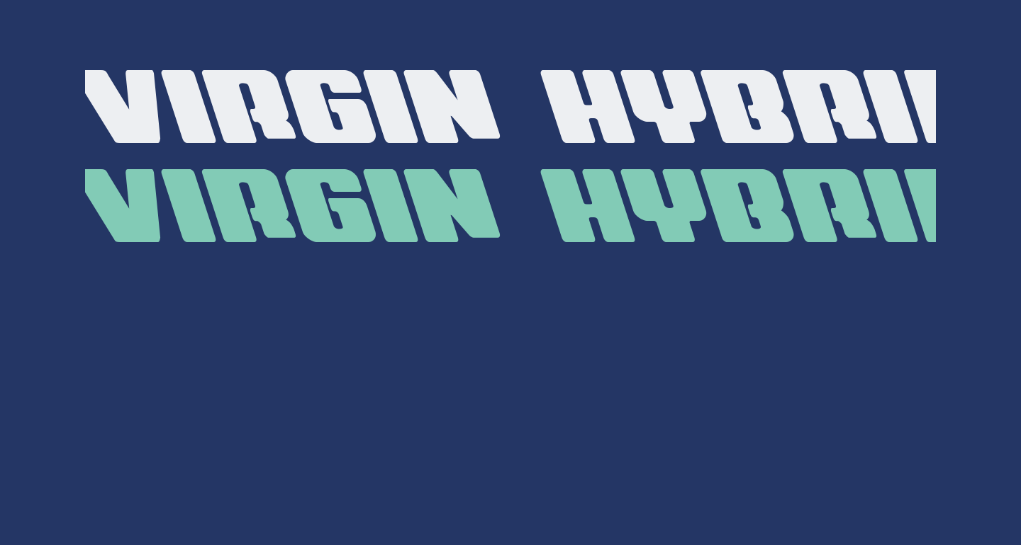 Virgin Hybrid Leftalic