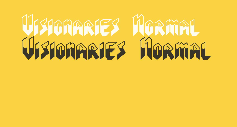 Visionaries Normal