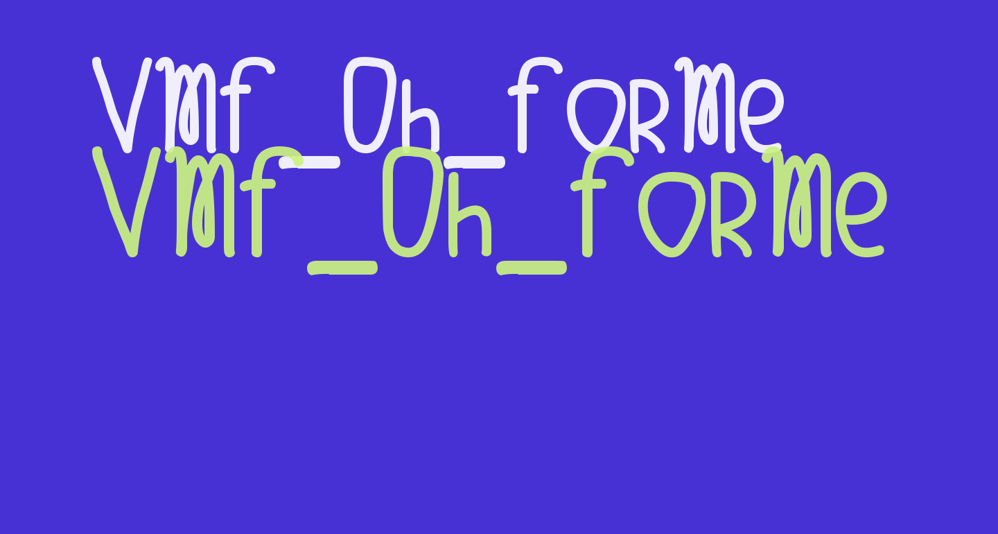 VMF_Oh_ForMe
