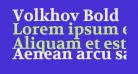 Volkhov Bold