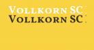 Vollkorn SC Bold