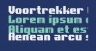 Voortrekker Condensed