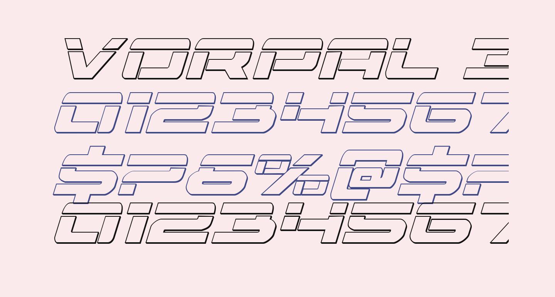 Vorpal 3D Italic