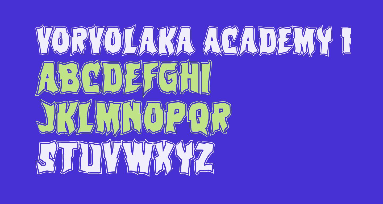 Vorvolaka Academy Regular