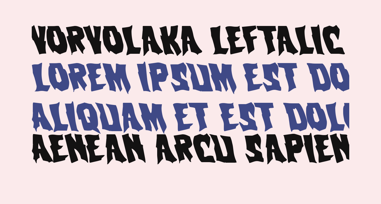 Vorvolaka Leftalic