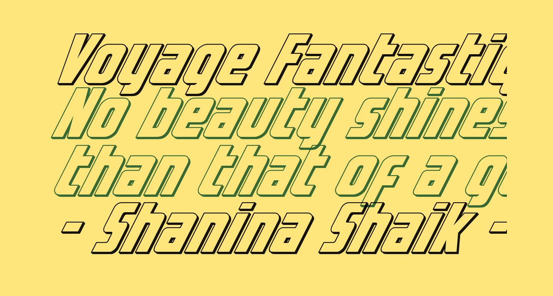 Voyage Fantastique 3D
