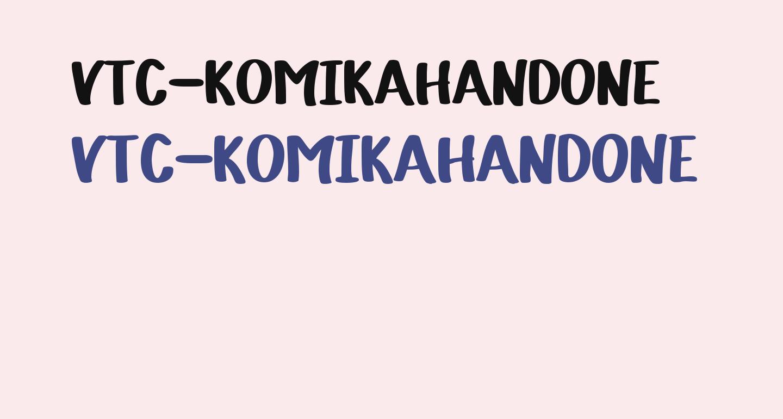 VTC-KomikaHandOne