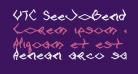 VTC SeeJoBend Bold